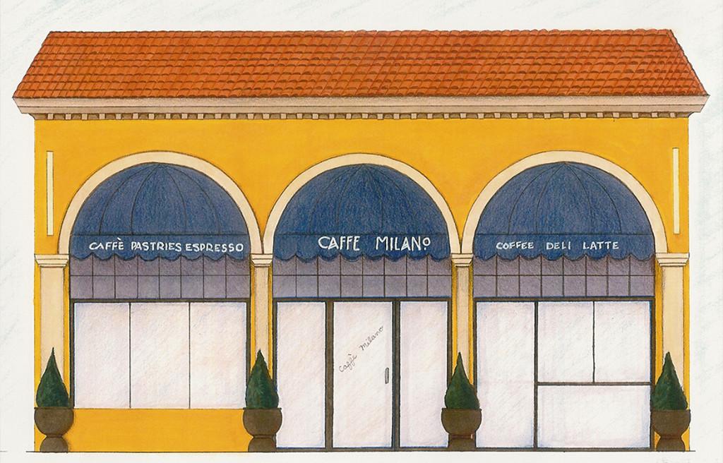 Caffe Milano Exterior
