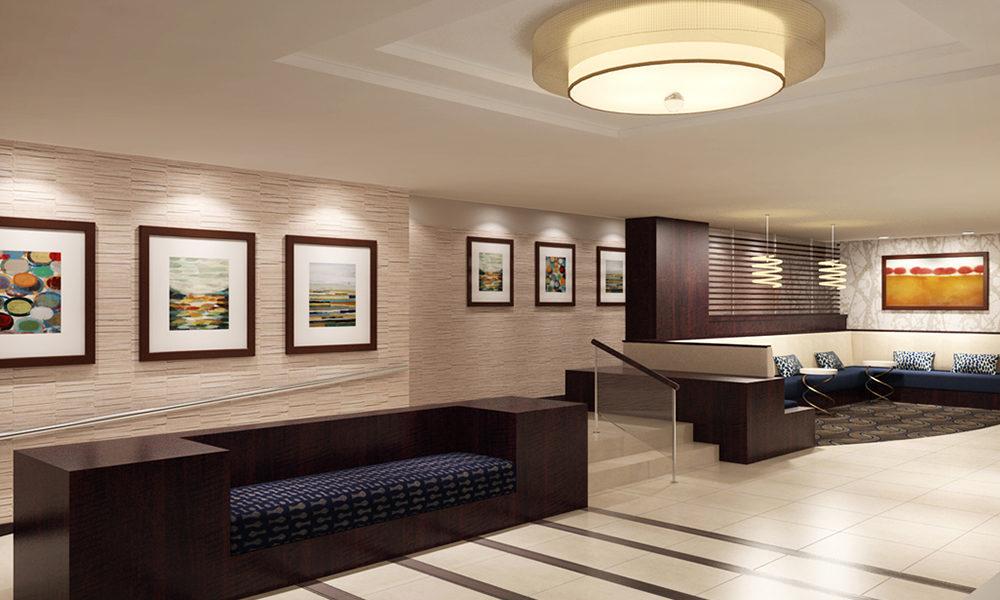 Lobby Renderings for Chelsea Towers