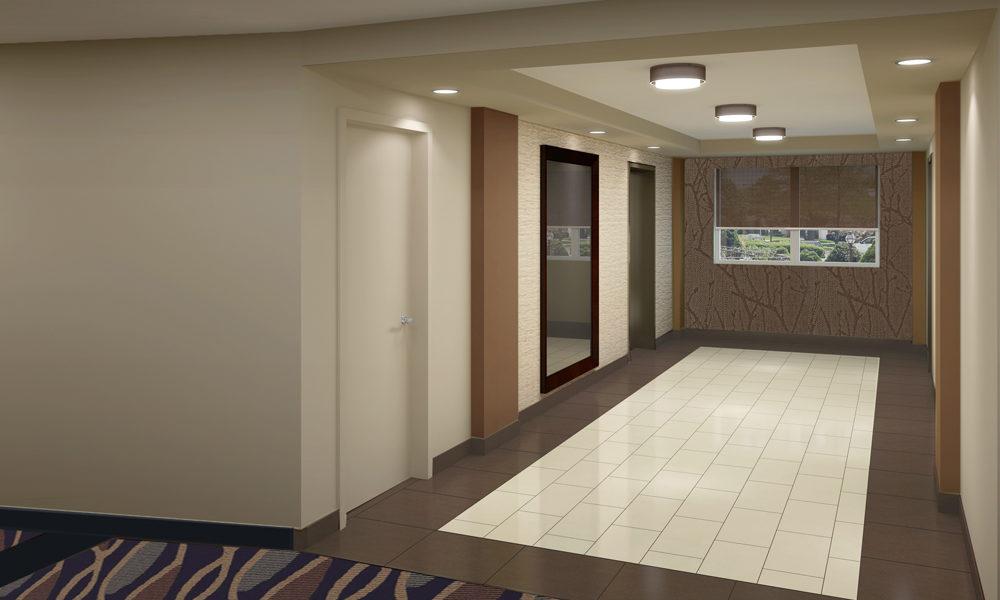 University Towers Elevator Lobby